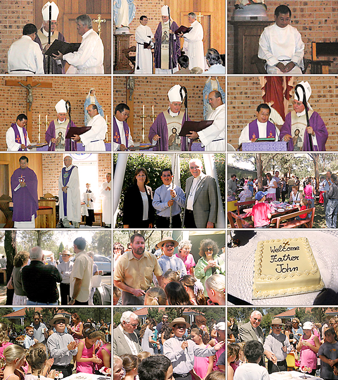 The Installation of Father John Ho as Parish Priest